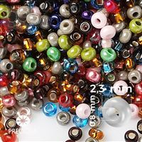 Preciosa rokajl MIX 10/0 2,3 mm  PRM072 50 g