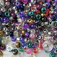 Preciosa rokajl MIX 11/0 2,1 mm  PRM074 50 g