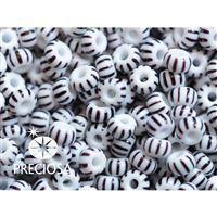 Preciosa STRIPED rokajl 8/0 2,9 mm (03591) 50 g